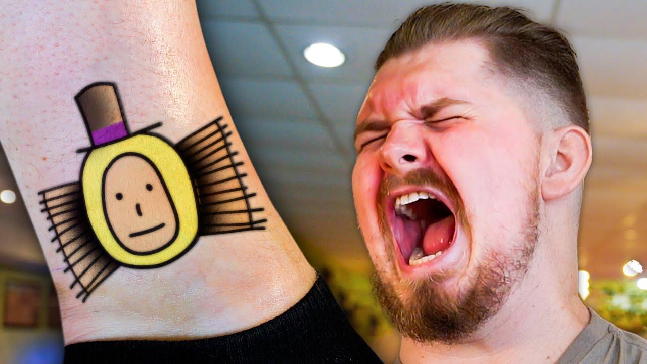 Narrator Gets a Brush Tattoo