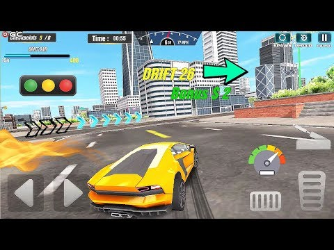 Extreme Driving Simulator - Drive Club Stunts Car Games - Android Gameplay Video