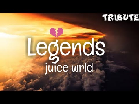 Juice Wrld - Legends (Clean - Lyrics) - Tribute 💔 😢