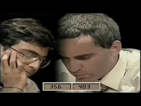 A Thriller!!! (Anand Vs Kasparov - 1996 Blitz Chess Final)