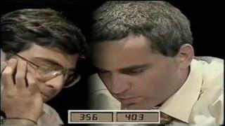 A Thriller!!! (Anand Vs Kasparov - 1996 Blitz Chess Final)