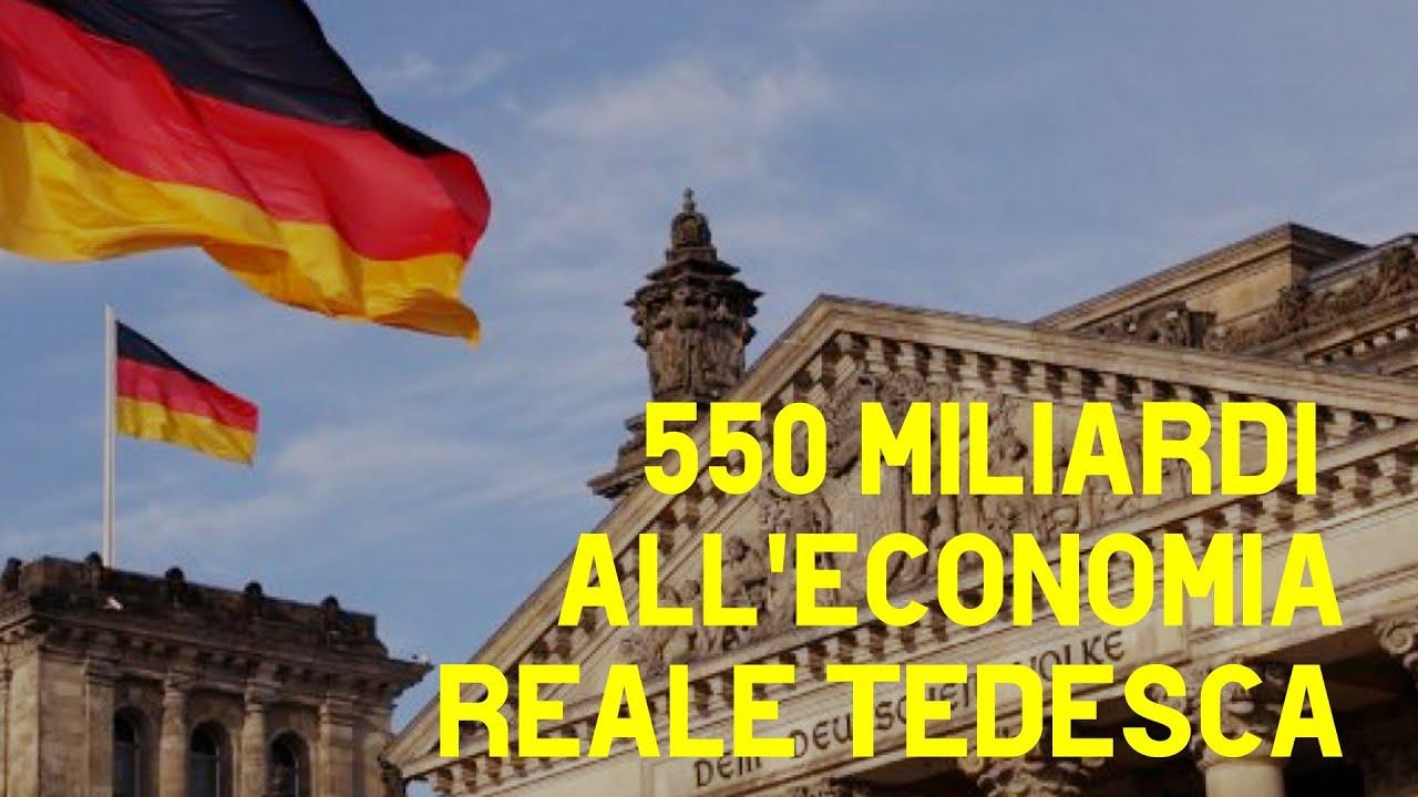 La Germania straccia le regole dell'unione europea e stampa moneta illimitatamente