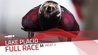Lake Placid | BMW IBSF World Cup 2018/2019 - Men's Skeleton Heat 2 | IBSF Official