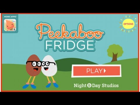 ✿★Peekaboo Fridge By Night & Day Studios✿★ Cute bedtime app for toddlers kids children iOS Android