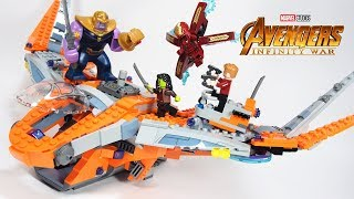 Lego Avengers Infinity War Thanos Ultimate Battle Stop Motion Build review 76107