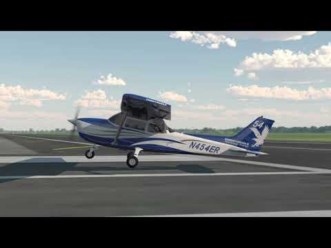 Normal & Crosswind Approach & Landing - Lesson 1