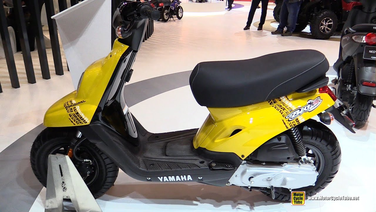 2016 yamaha bw 39 s original 50cc scooter walkaround 2015. Black Bedroom Furniture Sets. Home Design Ideas