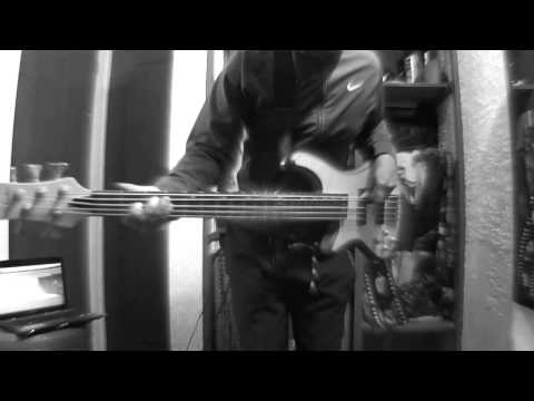 Rev Theory - Hell Yeah (Bass cover by Mauro Moncada)
