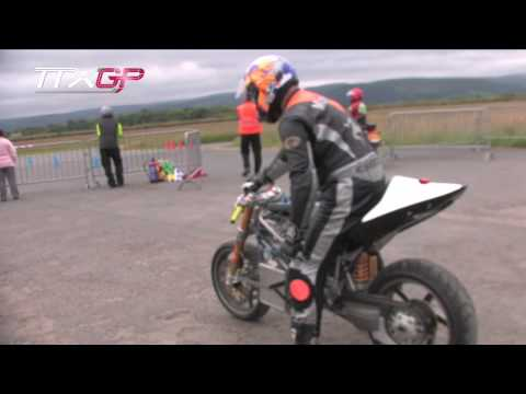 Isle of Man TT TTXGP - ManTTX X2 Electric Motorcycle Jurby