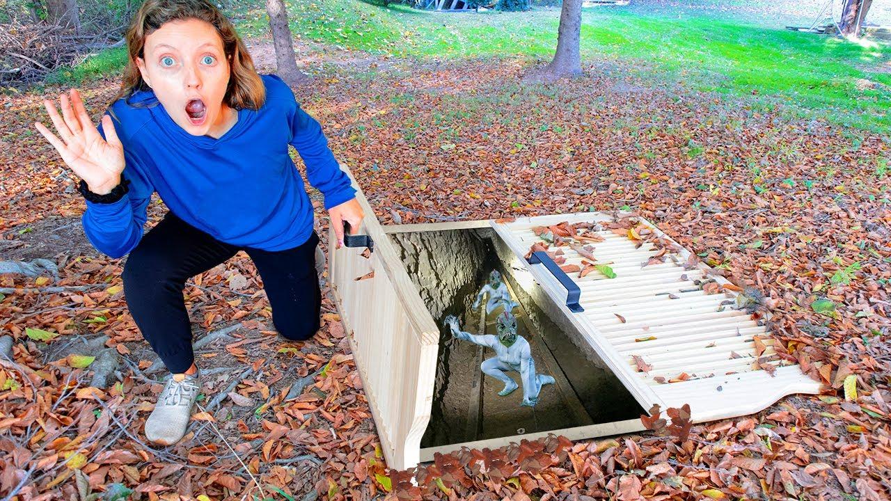 Underground Tunnel Found at Sharer Fam House (Hidden Pond Monster Hideout !?)