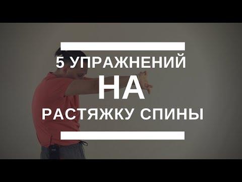 Упражнения для растяжки спины и позвоночника в домашних условиях видео