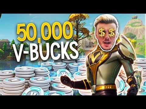 50,000 FREE FORTNITE V BUCKS FOR WINNING GAMES!! (Fortnite)