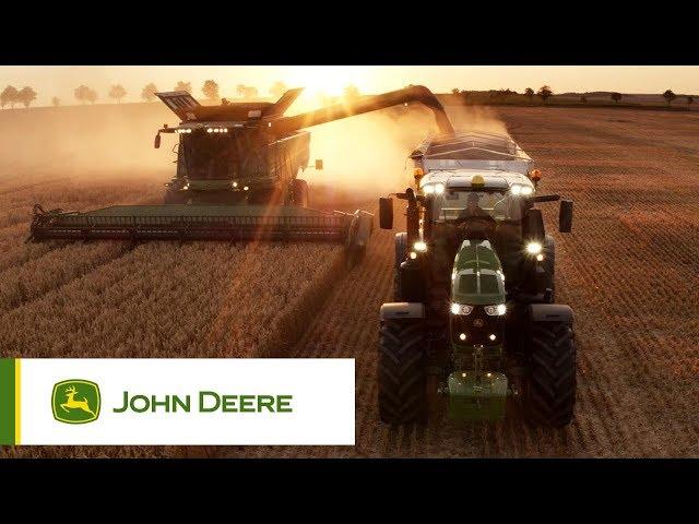 Moissonneuses-batteuses John Deere: la famille en action