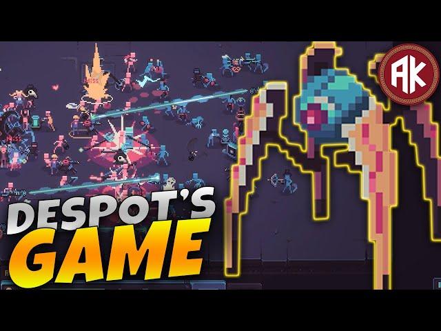 Batalha com HUMANOS INSIGNIFICANTES! - Despot's Game