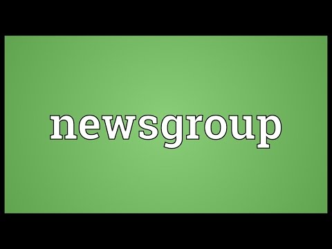 Newsgroup Meaning