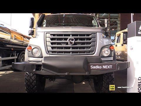 2019 Gaz Sadko Next Medium Duty Russian Truck Exterior, Interior Walkaround 2018 IAA Hannover