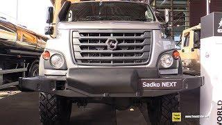 2019-gaz-sadko-next-medium-duty-russian-truck-exterior-interior-walkaround-2018-iaa-hannover