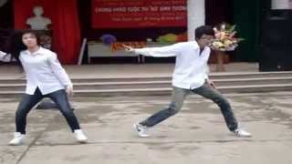 Ngỡ ngàng trước màn nhảy Hiphop của nữ sinh cấp 3 Nam Định!