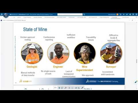 Webinar: 3DXPERIENCE Mine - Driving Digital Transformation