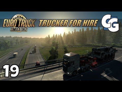 [ETS2] Trucker for Hire - Ep. 19 - Heavy Haulin' to Zurich - ETS2 ProMods 2.20 Let's Play
