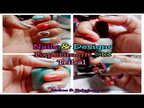 nails-&-designs-experiment-#13-tribal-/-nail-care