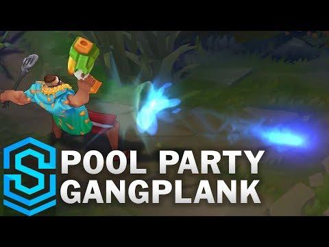 Pool Party Gangplank Skin Spotlight - League of Legends