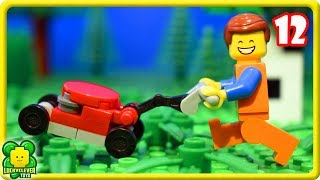 Lego Movie 2 Stop Motion Videos #12 | Lego Lawn Mower Fail
