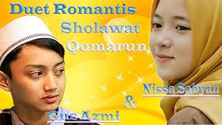QOMARUN Nissa Sabyan dan Gus Azmi Duet Romantis TERBARU 2018