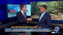 Filing Insurance Claims for Hail Damage