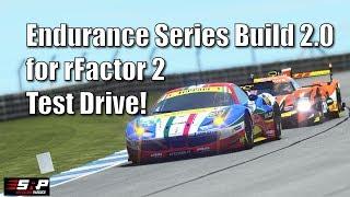 rFactor 2 - Endurance Series Build 2.0 Test Drive