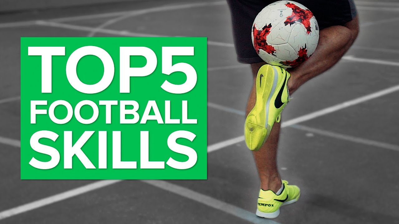 TOP 5 Football Skill Moves Done by Pros