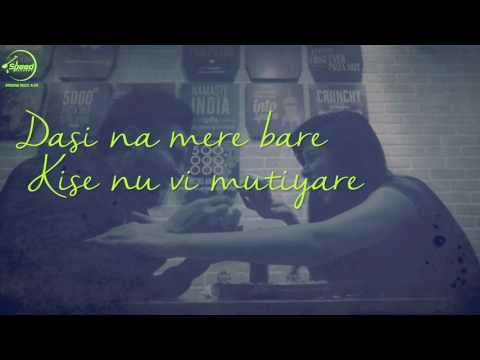 Dasi Na Mere Bare ( Lyrical Video ) | Goldy | Punjabi Song Collection | Speed Records