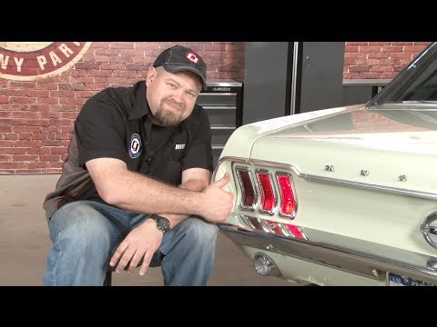 Mustang Sequential LED Taillight Kit 1967-1968 Installation - YouTube