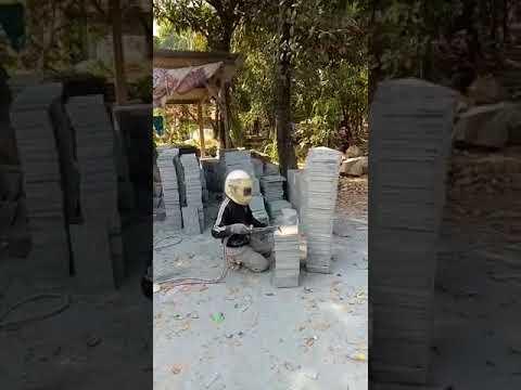 Teknik Pembakaran Batu Andesit Bakar Yang Benar