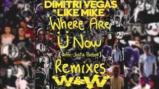 Jack Ü - Where Are u Now (Feat.Justin Bieber) (Dimitri Vegas & Like Mike & W&W Remix)