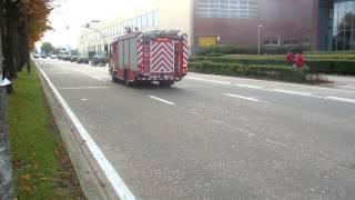 100ste Video !!!  2e ( A2 ) met spoed naar brand haven Antwerpen