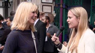 London Fashion Week: 3 minutes with iconic Westwood muse Sara Stockbridge | my-wardrobe.com