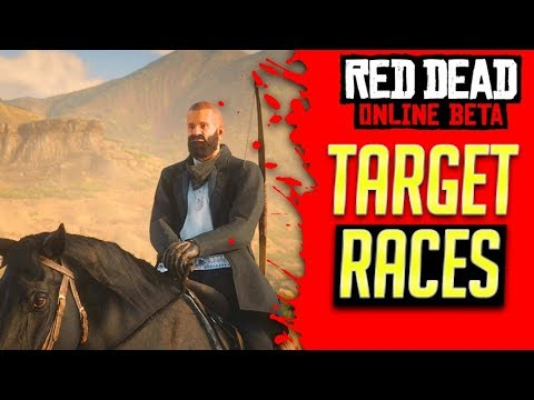 NEW TARGET RACES In Red Dead Redemption 2 Online - Red Dead Online (RDR2 Online) thumbnail