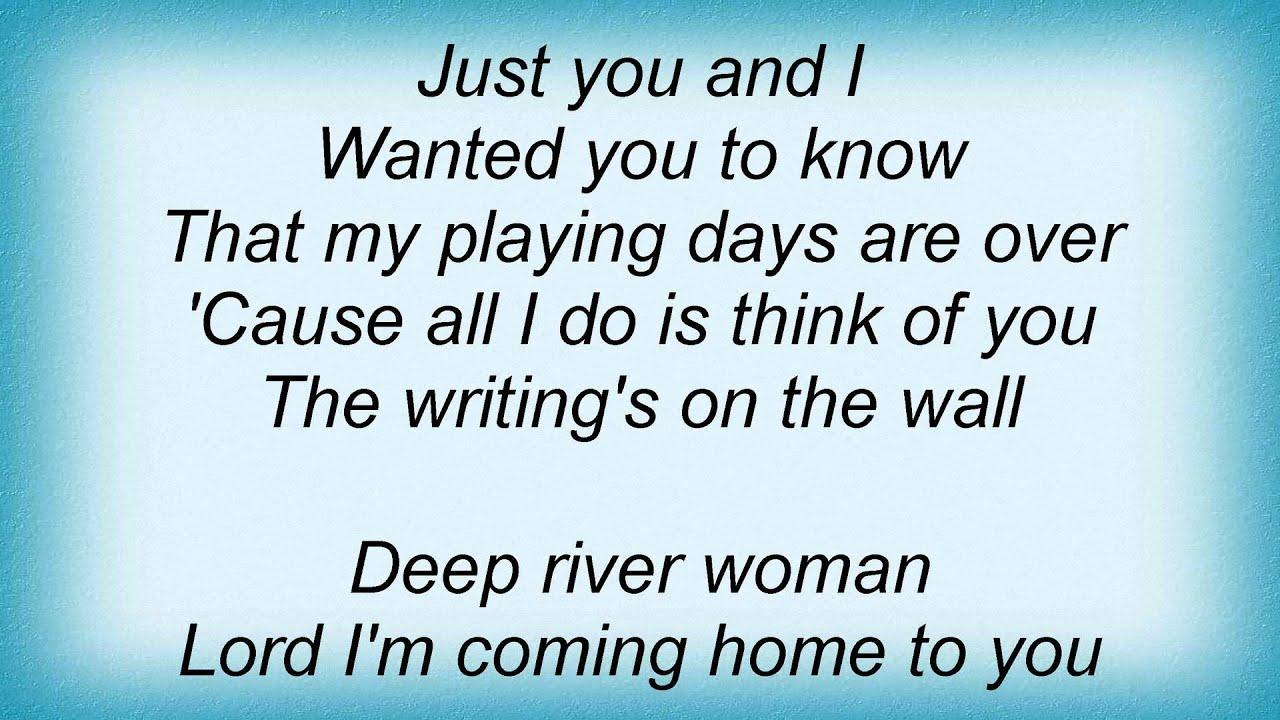 deep river lyrics