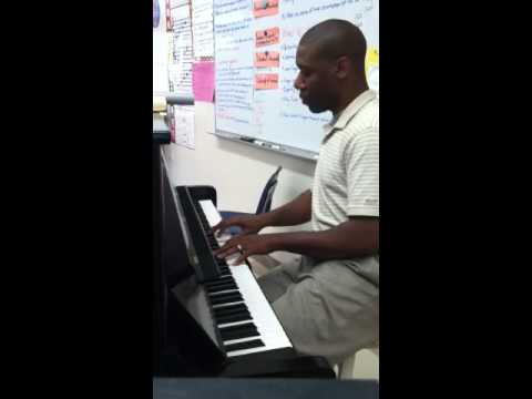 Glorious Is The Name Of Jesus piano solo
