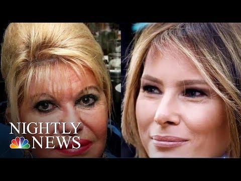 Ivana Trump: 'I'm First Lady, OK?' | NBC Nightly News