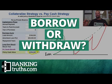 To Borrow or Withdraw from a Banking Life Insurance Policy
