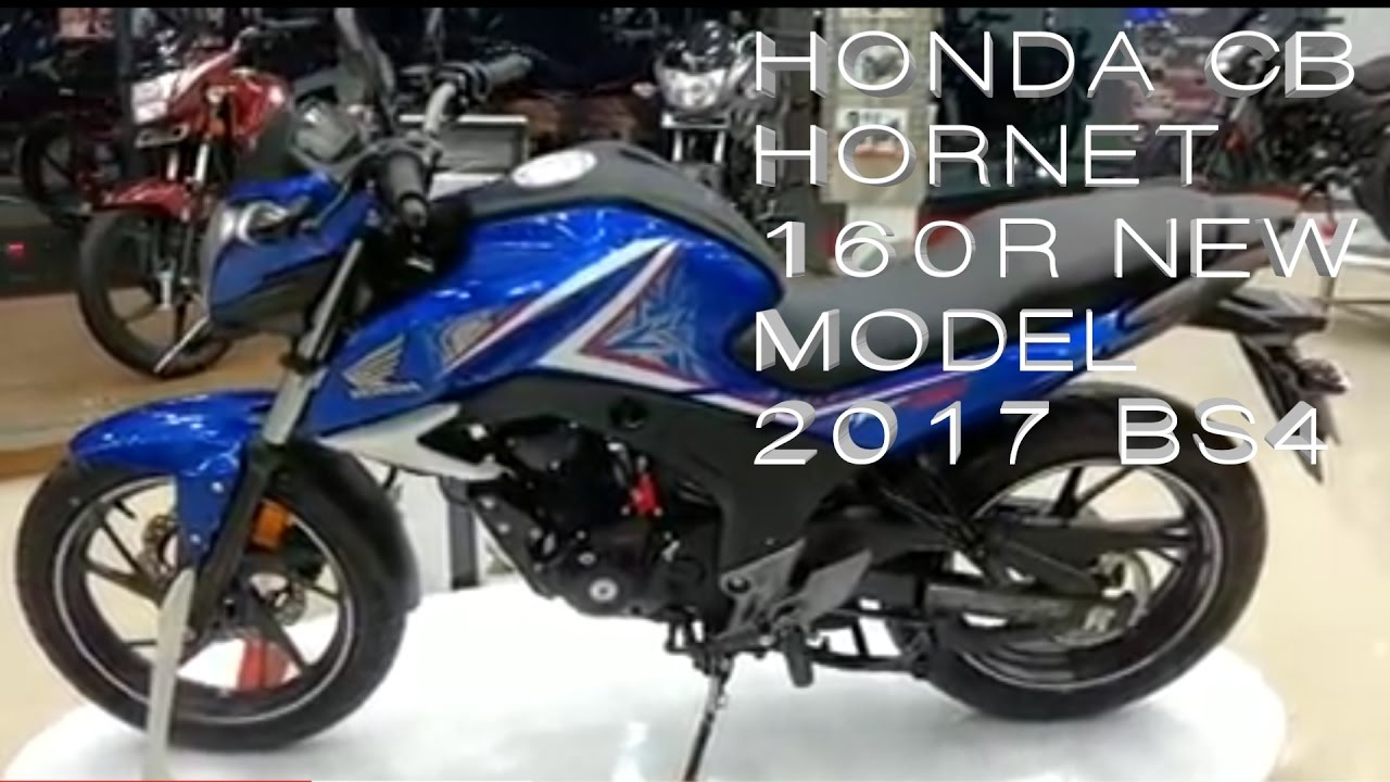 honda cb hornet 160r 2017 bs4 walkaround what 39 s new youtube. Black Bedroom Furniture Sets. Home Design Ideas