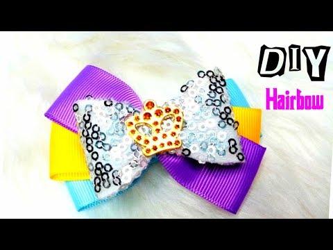 Hairbow   Hairclip Ideas DIY    Easy Tutorial    How to Make