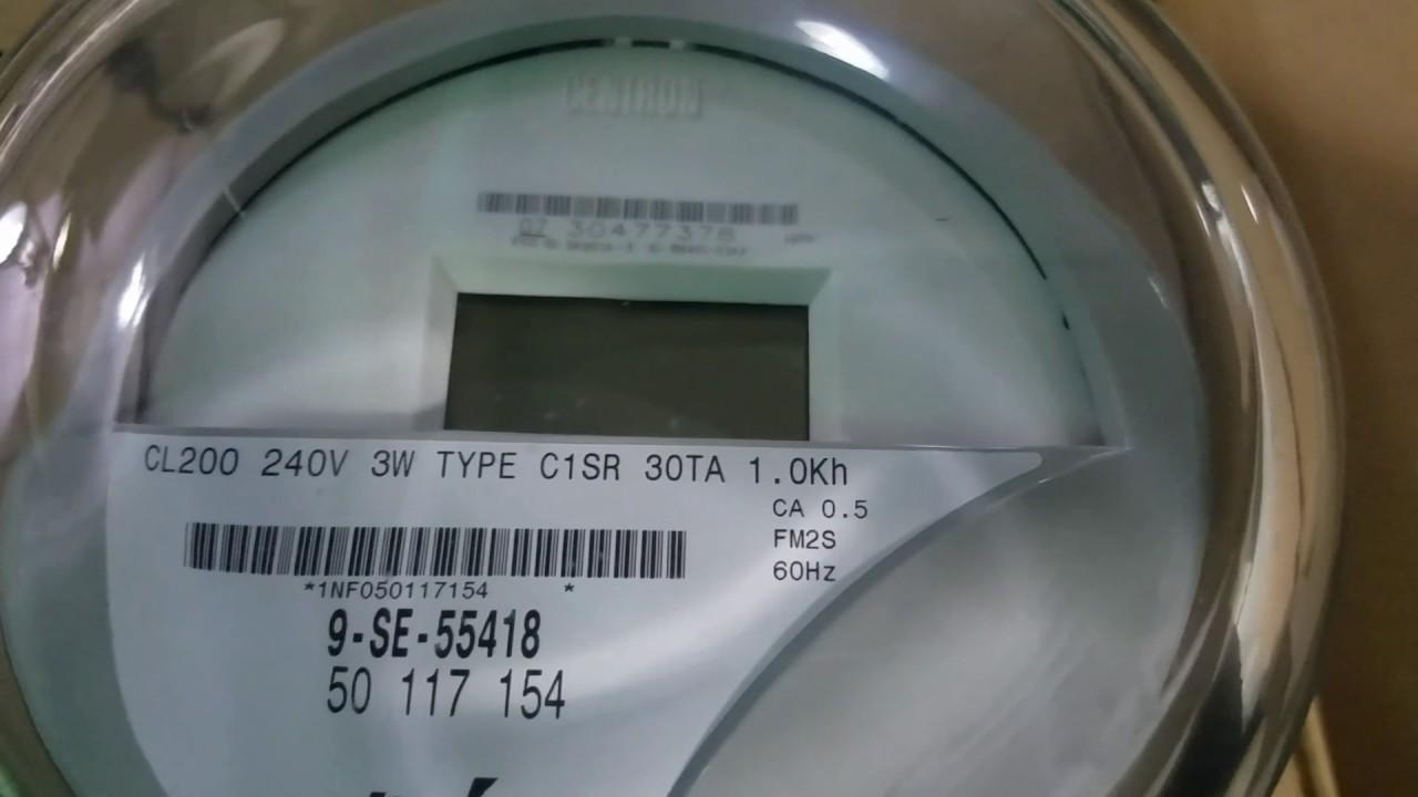 Itron Centron C1SR Electric Meter Teardown