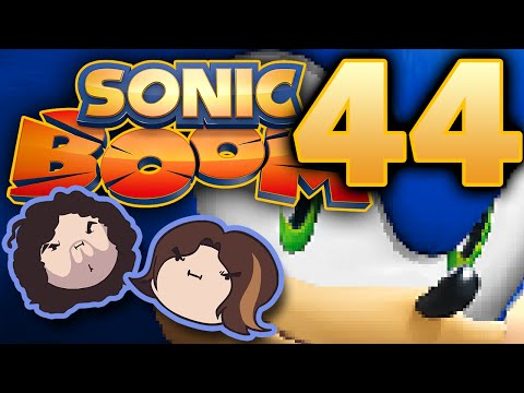 Sonic Boom: Can't Stop Won't Stop Might Stop - PART 44 - Game Grumps