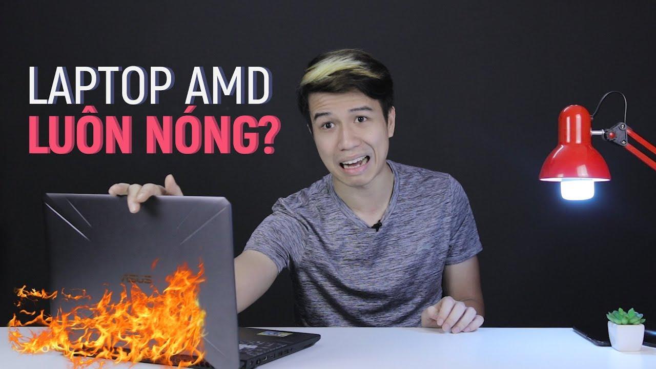 Laptop chơi game AMD có ngon bằng INTEL?