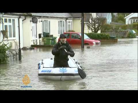 Thousands of UK homes under threat by floods