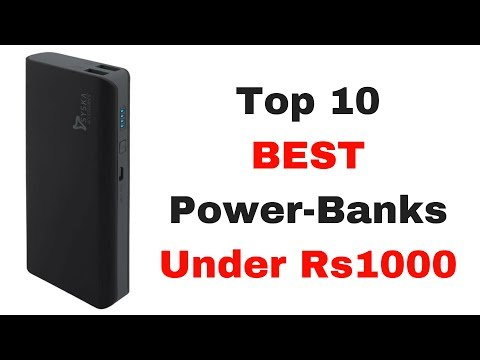 Top 10 Best Power Banks Under 1000 rs in India (DECEMBER 2017) with Pros and Cons