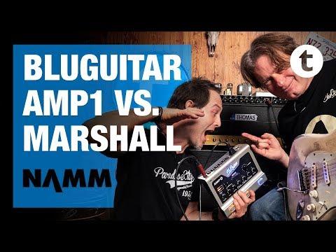 NAMM 2019 | New BluGuitar Mercury Amp | Thomas Blug | Thomann